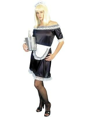 French Maid Costume S * Cheap *  French Costume Dress Up - Ladies Fancy Dress