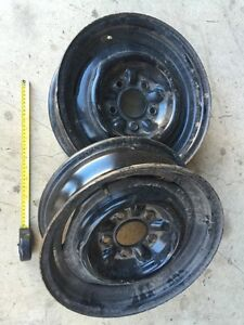 "15"" Chevy Steel Rims Pair"