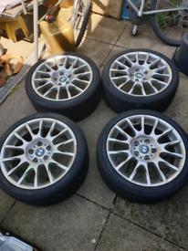 "Bmw bbs 216 motorsport 18"" alloy wheels"