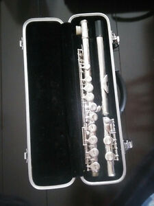2 Used Flutes - Sky - With both original hard and soft cases