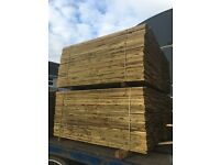 "5ft 11"" Treated Fencing Boards"