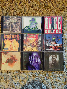 Heavy metal cds