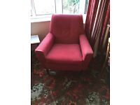 1960's settee and 2 chairs
