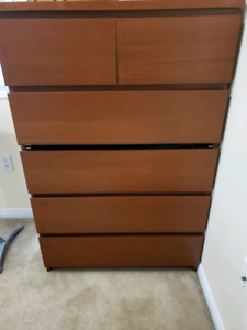 IKEA MALM 6-drawer chest -- SOLD