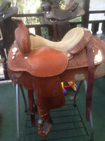 Steal of a deal Circle Y show saddle
