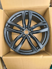 "22"" Audi Q7 alloy wheels 22/112/35 9.5J"