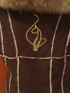 Girls Baby Phat Winter Coat Size 4-6 & Nine West Winter Boots