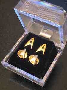 Vintage Star Trek Studded Earrings Set (1992)
