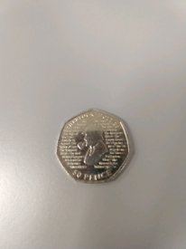 Sherlock Holmes Special 50p coin