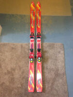 Used junior skis