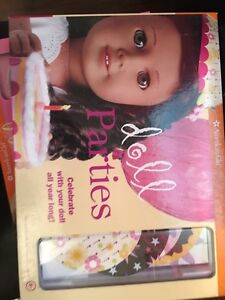 American girl doll parties book