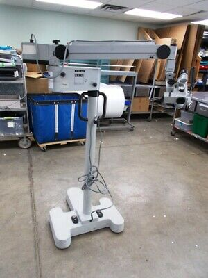Zeiss Opmi 1 Fc On S21  Surgical  Microscope Ent Dental Warranty