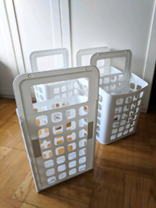 4 Ikea baskets