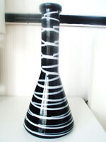 NEW HAND CRAFTED VASE IN CZECH REPUBLIC - BOHEMIAN GLASS