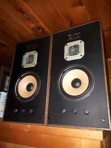 Selling stereo equipment as a bundle price for lots of stuff.