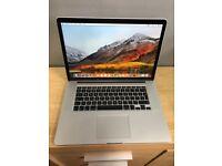 "Apple MacBook Pro 15"" Mid 2015 corei7 2.5Ghz/16gb/512ssd"
