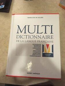 Multi dictionnaire de la langue française