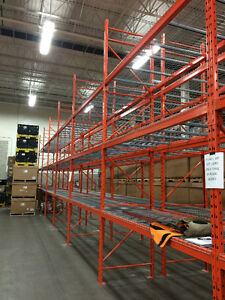 New & used Pallet Racking, Shelving, Installations, Moving,