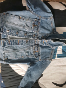 Toddler/youth T4-5/XS roots Jean jacket