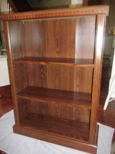 Wood Veneer Bookcase