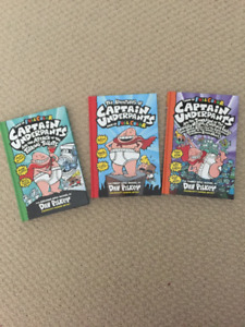 Captain Underpants Books  - Hardcover  $5 each