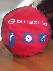 Outbound -10c Sleeping Bag- Like new