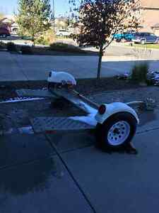 CAR DOLLY STEERABLE TRAILER