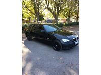 Bmw 318+diesel+2008+4dr saloon+black+Hpi clear+part exchange welcome