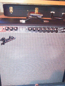 Heritage colonial Head with  2x12 cab /Fender super reverb
