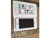 iPhone 5s White/gold on EE