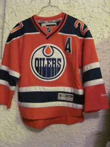 Lucic #27 Oilers Jersey