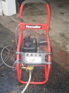 Gas pressure washer 2700 psi