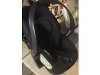 Stokke navy blue baby car seat