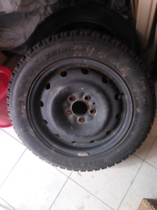 """Winter tires with 16"""" rims"""