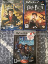 PlayStation 2 PS2 Harry Potter games bundle