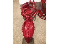 Red Valentino Rockstud heels