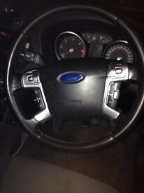 Ford mondeo mk4 steering wheel leather stitched with air bag 57+