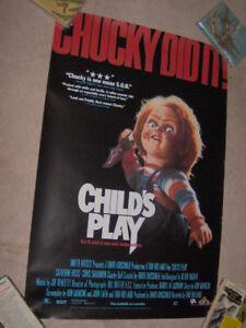 CHUCKY Child's Play Horror Movie Poster