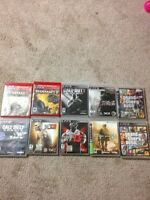 10 good condition PS3 games must go