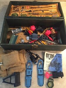Vintage GI Joe foot looker with accessories Kingston Kingston Area image 2