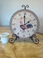 Rooster clock