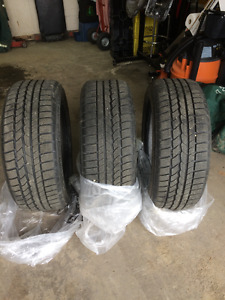 Continental 4X4 WINTER Contact SSR 255/50-19  run flat tires