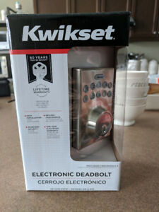 Kwikset Contemporary Electronic Keypad Lock, Satin Nickel