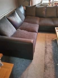 Large 5 seater corner sofa