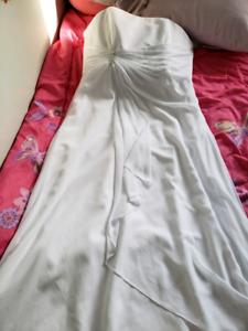 Wedding Dress/Cover coat