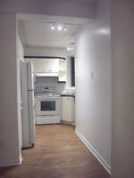 5 1/2 condo mins to downtown, McGill, Concordia, UQAM, 40secs to