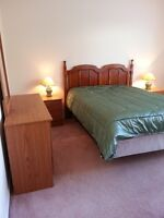 Furnished bedroom shared home College Heights