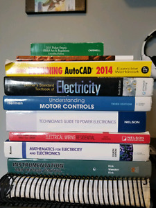 First year Electrical student textbooks