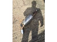 Bmw f20 116i chrome tip exhaust and back box