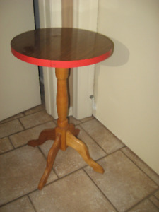 round table=side table=different table